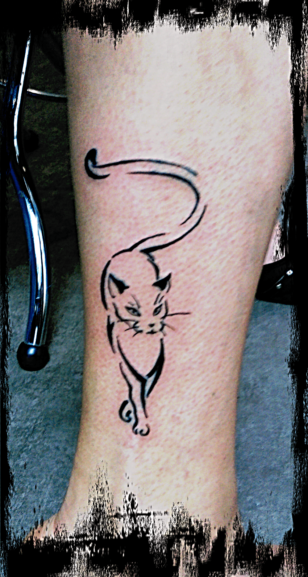 Tatouage CHAT